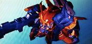 Rozette Enhanced Battle Form Prototype