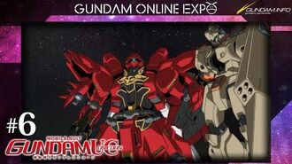 """MOBILE SUIT GUNDAM UNICORN episode 6 """"Two Worlds, Two Tomorrows"""""""