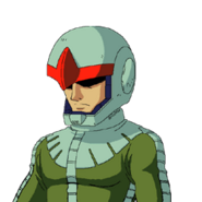 Zeon Pilot B (G Gen Wars)