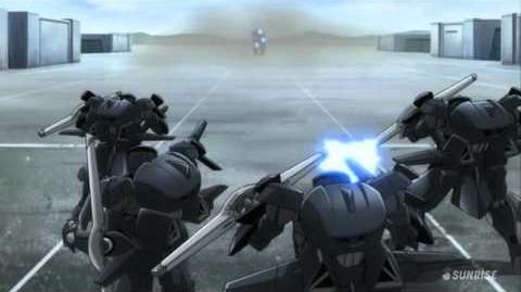 100 GN-002 Gundam Dynames (from Mobile Suit Gundam 00)