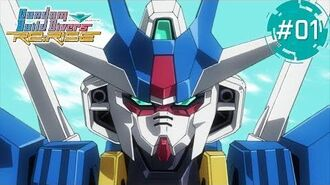 Gundam Build Divers Re RISE – 1 Wandering Core Gundam (EN,HK,TW,KR,TH,FR,IT sub)