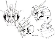 Lightning Gundam head