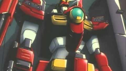 098 GT-9600-D Gundam Leopard Destroy (from After War Gundam X)