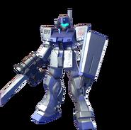 GM Sniper II (White Dingo) -Gundam Versus-