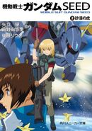 Gundam SEED Novel vol.2 Cover
