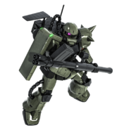 MS-06F Zaku Minelayer BO2