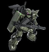 MS-06F Zaku Minelayer BO2