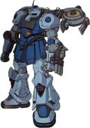 MS-07B Gouf (Sean Custom)
