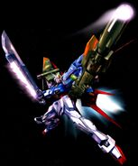 Perfect Strike Gundam by Hidetaka Tenjin