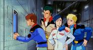Amuro, Bright, Chan, Kayra