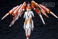 BN-876β Hot Scramble Gundam (Gunpla) (Action Mode)
