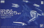 MG ν Gundam Ver. Ka Double Fin Funnel Set