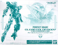 PG Clear Color Body for Gundam Exia