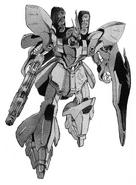 Sazabi Gundam - Chars Counterattack Manga
