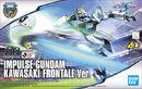 HGCE Impulse Gundam KAWASAKI FRONTALE Ver