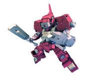 SD Gundam G Generation Cross Rays Shiden Custom