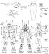 MG RGM-79SP Mechanical plan