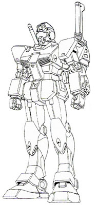 Front (w/ Shoulder Cannon)