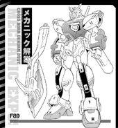 Gundam f89 F