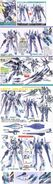 Gundam 1 100 Scale Model Kit - Vent Saviour Gundam LV-ZGMF-X23S