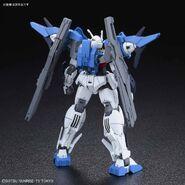 GN-0000DVR-S Gundam 00 Sky (Gunpla) (Rear)