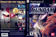 Mobile Suit Gundam Federation Vs Zeon USA