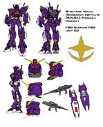 F90 Gundam F90 Unit 02