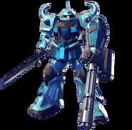 MS-07B-3 Gouf Custom (Gundam Versus)