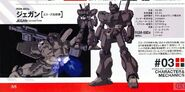 RGM-89De - Jegan (ECOAS Type) - Specs Tech Detail Design