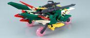 XXXG-01Wfl Gundam Fenice Liberta (Gunpla) (Rear Meteor Hopper Mode)