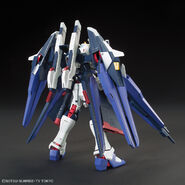 ZGMF-X10A-A Amazing Strike Freedom Gundam (Gunpla) (Rear)