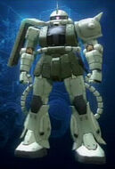 Zaku II S Close up