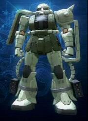 Zaku II (Heavy) Close up