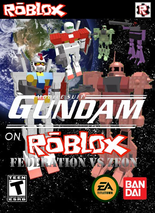 Mobile Suit Gundam on ROBLOX: Federation vs Zeon   Gundam on