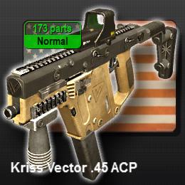 Kriss Vector .45 ACP