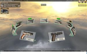 Gun Disassembly pistol CTG