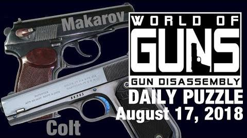 World of Guns- DAILY PUZZLE (August 17, 2018)
