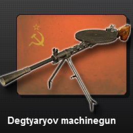 Degtyaryov Machinegun