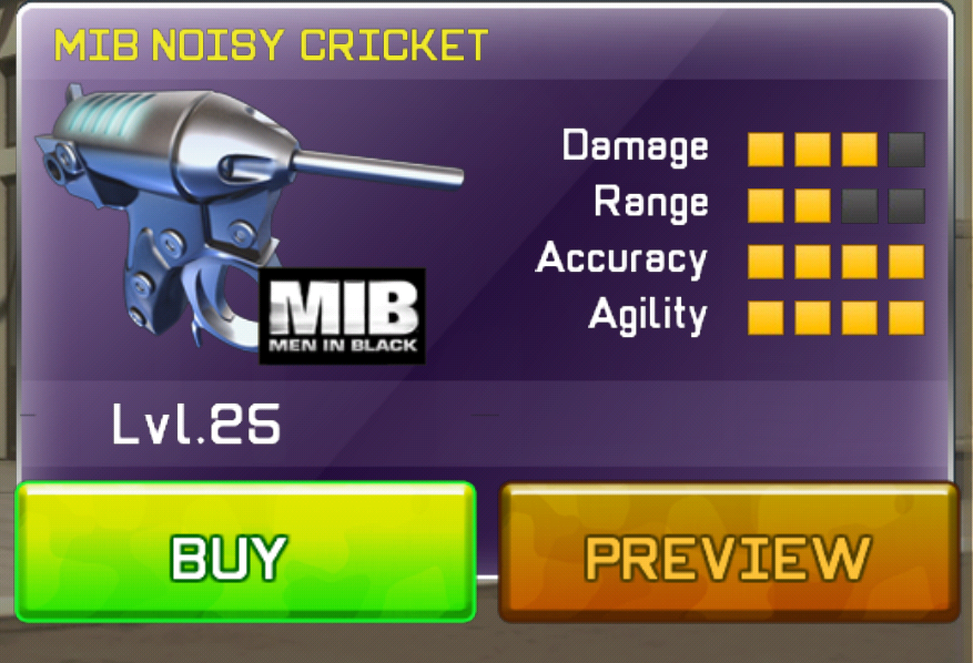 Mib Noisy Cricket Respawnables Gunfaceoff Wiki Fandom