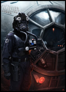 Tie Fighter Pilot by jamga