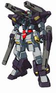 Gundam AGE-3 Black Comet Fortress