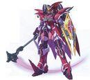 XXZG-05D3 Gundam Deathscythe Rouge