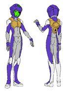 Cerulean Normal Suit