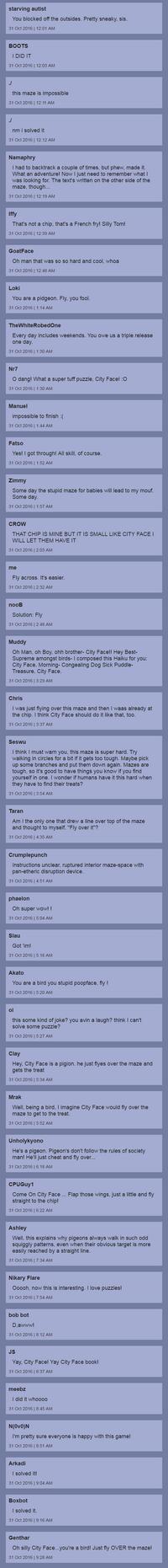 City Face Puzzles comments 1