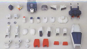 Blue Destiny Conversion Parts for MG RX-79(G) Gundam