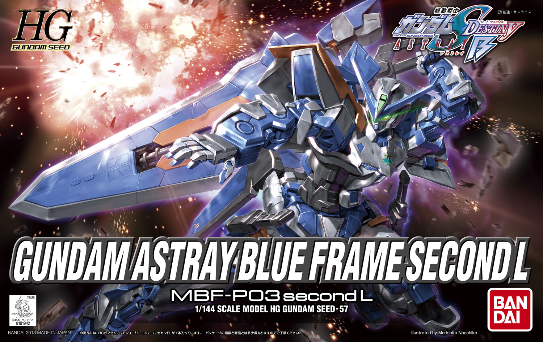 Hggs Mbf P03secondl Gundam Astray Blue Frame Second L Gunpla Wiki Revise