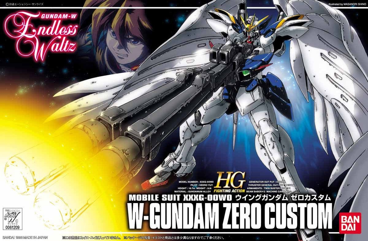 1 144 Wing Gundam Zero Custom boxart