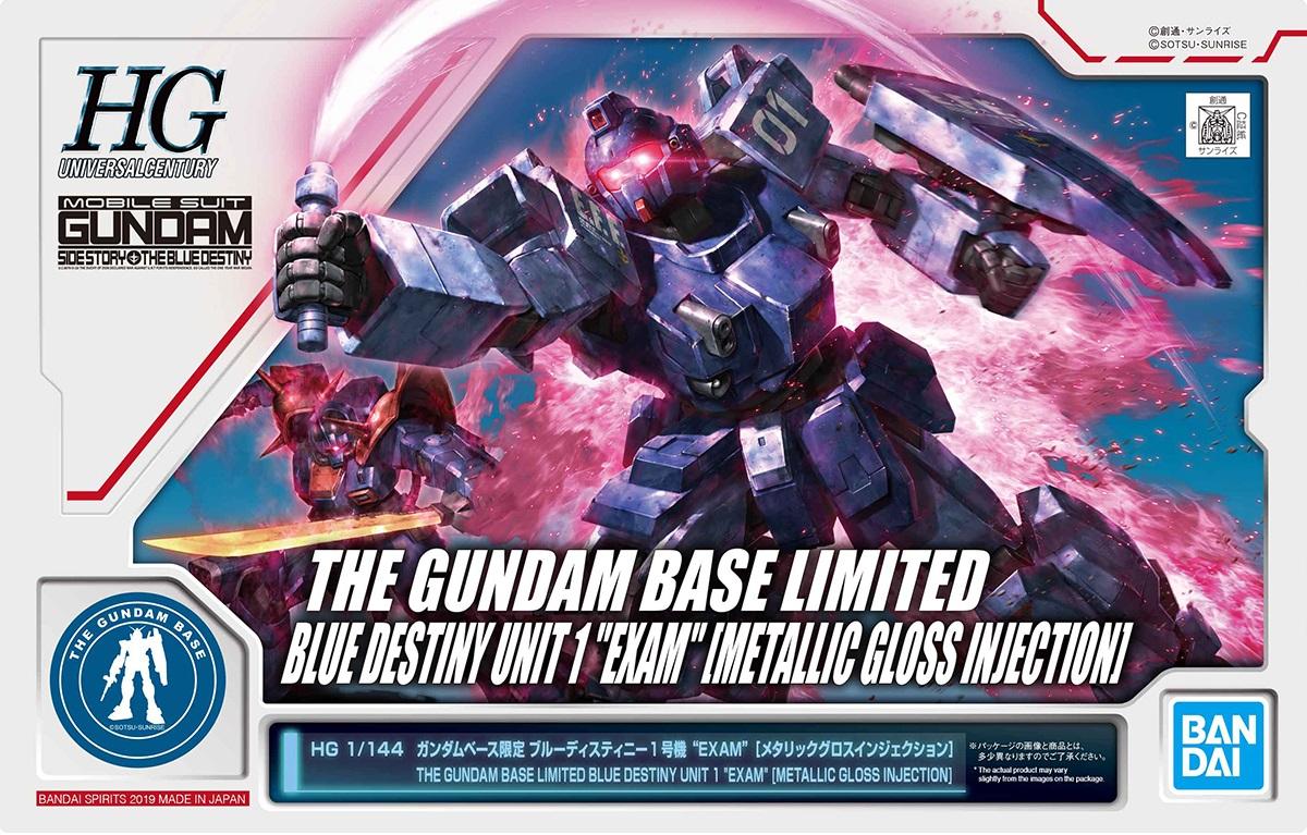 "RX-79BD Blue Destiny Unit 1 /""Exam/"" GUNPLA HG High Grade 1//144 Gundam Sidestory"