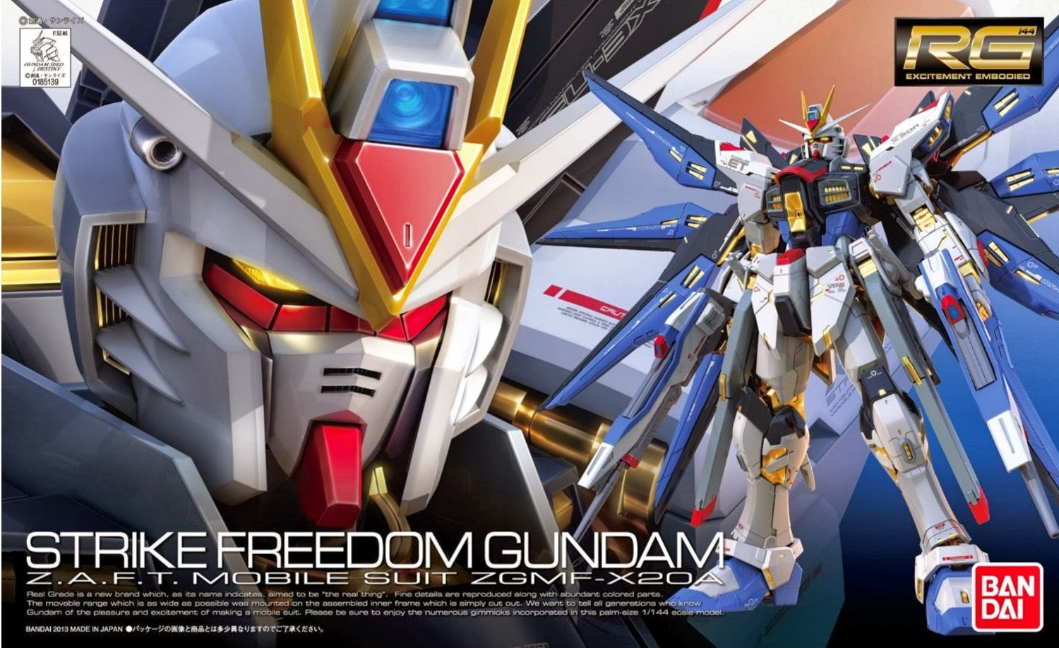 20 Strike Freedom Gundam Clear Color Ver Wallpapers
