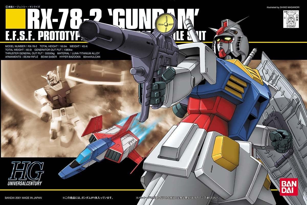 HGUC RX-78-2 Gundam (2001)   Gunpla Wiki   FANDOM powered by